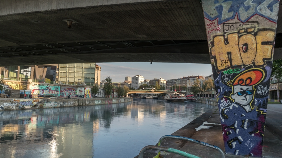 Donaukanal sunset - 01
