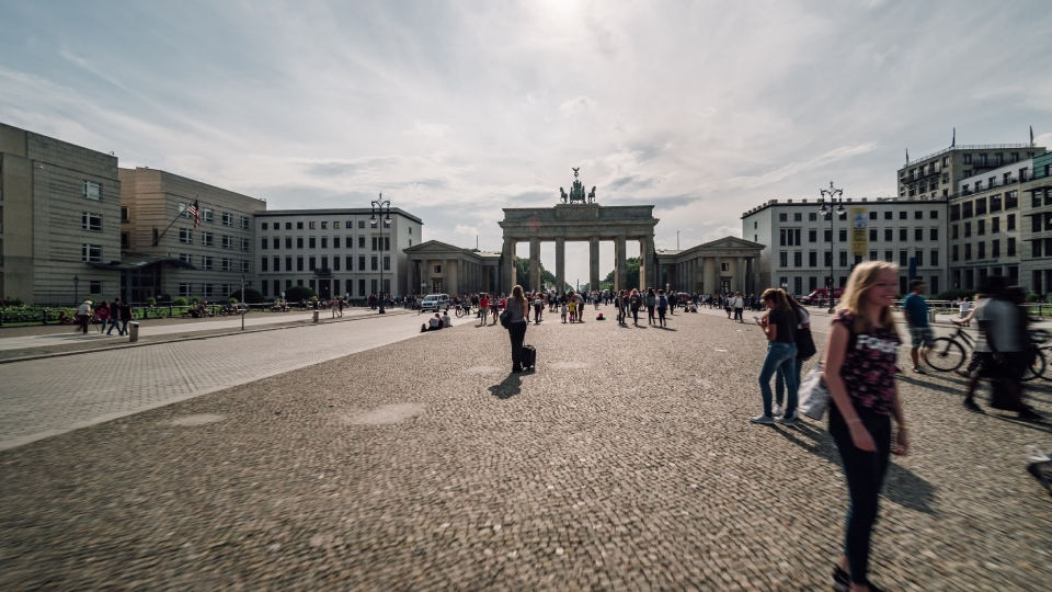 Brandenburger Tor hyperlapse - 01